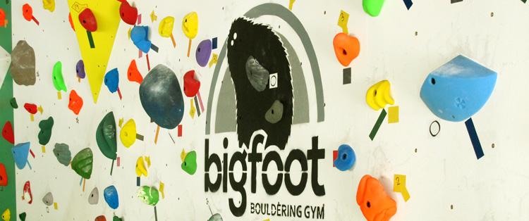 【福岡県のボルダリングジム】 ボルダリング bigfoot中洲