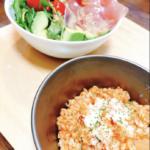 【メスティンレシピ】トマトリゾット